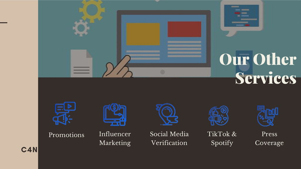 Promotions Press Coverage Social Media Verifica...