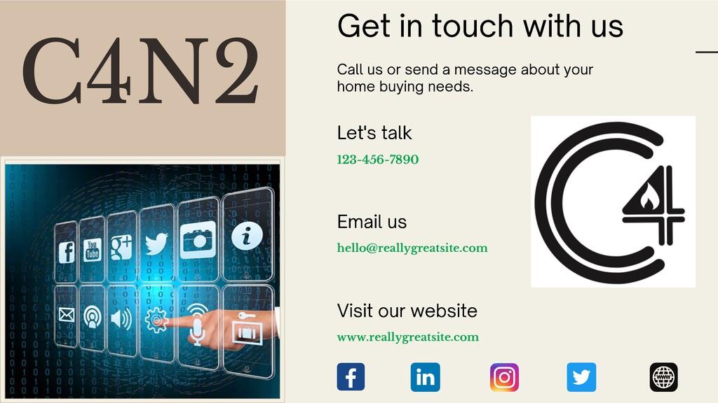 C4N2 123-456-7890 hello@reallygreatsite.com www...