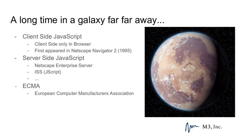 A long time in a galaxy far far away... - Clien...