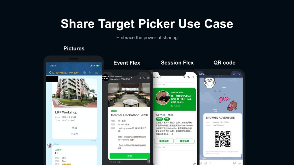 Share Target Picker Use Case Embrace the power ...