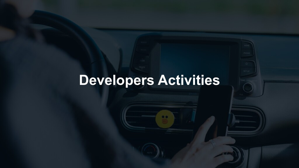Developers Activities