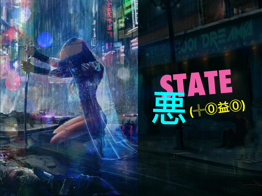 STATE 悪(╬⓪益⓪)
