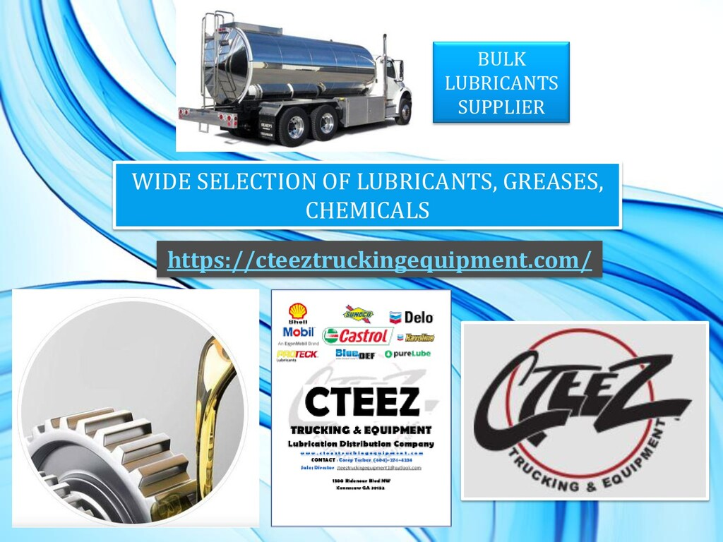 BULK LUBRICANTS SUPPLIER WIDE SELECTION OF LUBR...