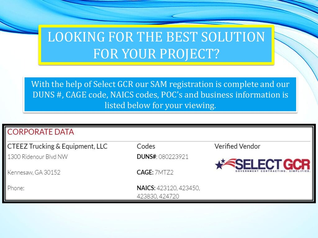 LOOKING FOR THE BEST SOLUTION FOR YOUR PROJECT?...