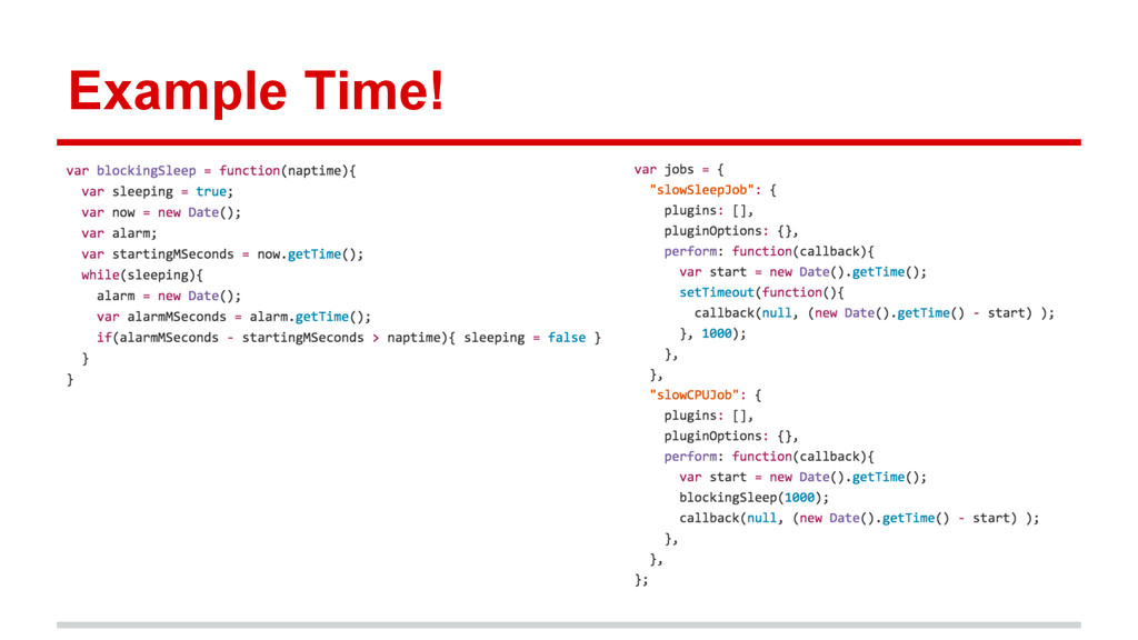 Example Time!