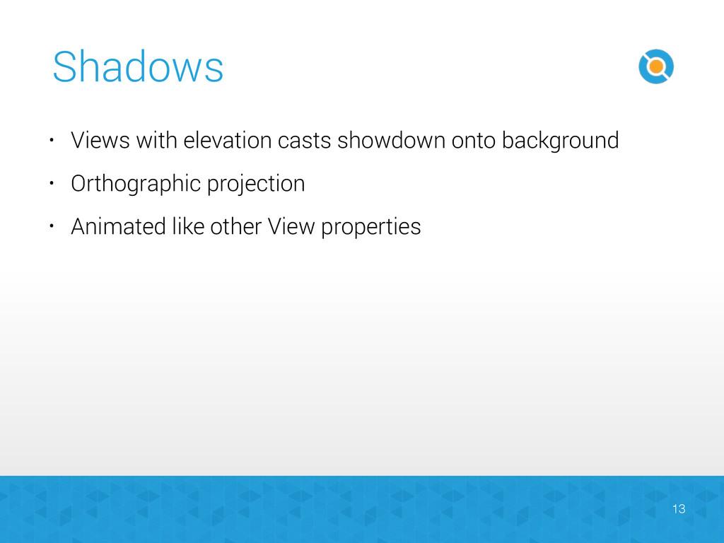 Shadows 13 • Views with elevation casts showdow...