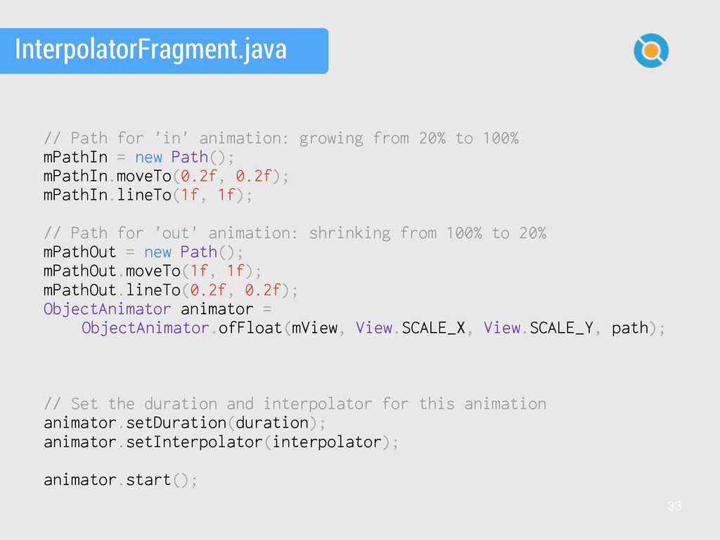 33 InterpolatorFragment.java // Path for 'in' a...