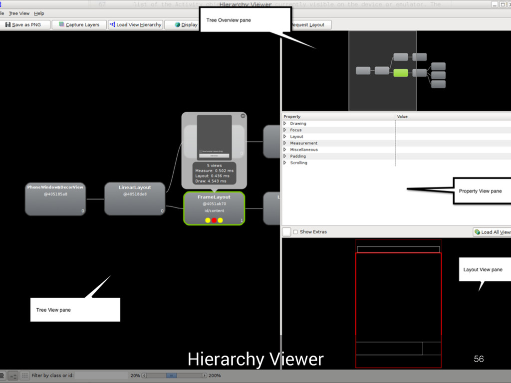 Hierarchy Viewer 56