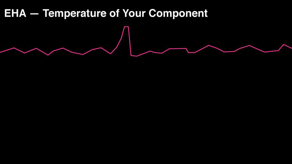 EHA — Temperature of Your Component receiving d...