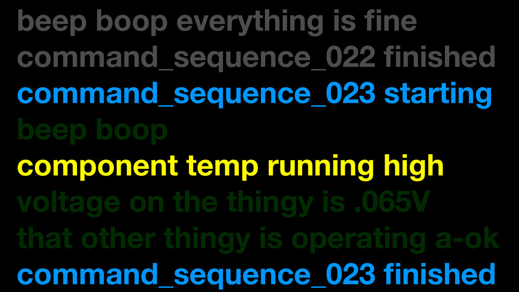 beep boop everything is fine command_sequence_02...
