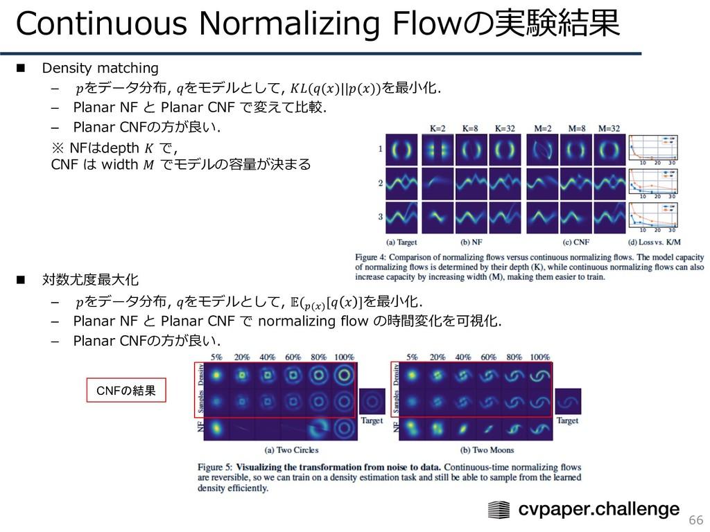 n Density matching – をデータ分布, をモデルとして, (()||())を...