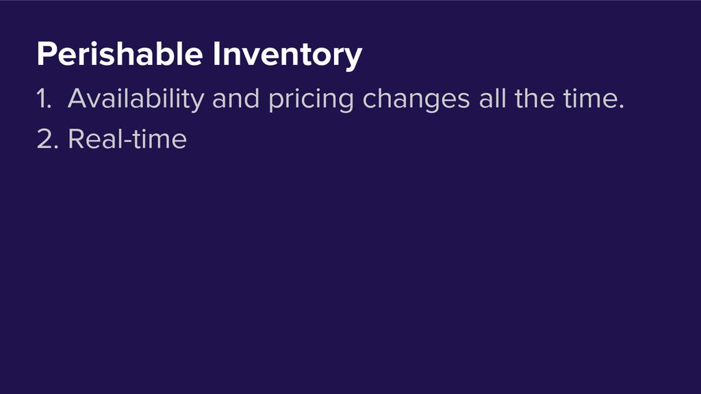 Perishable Inventory 1. Availability and pricin...