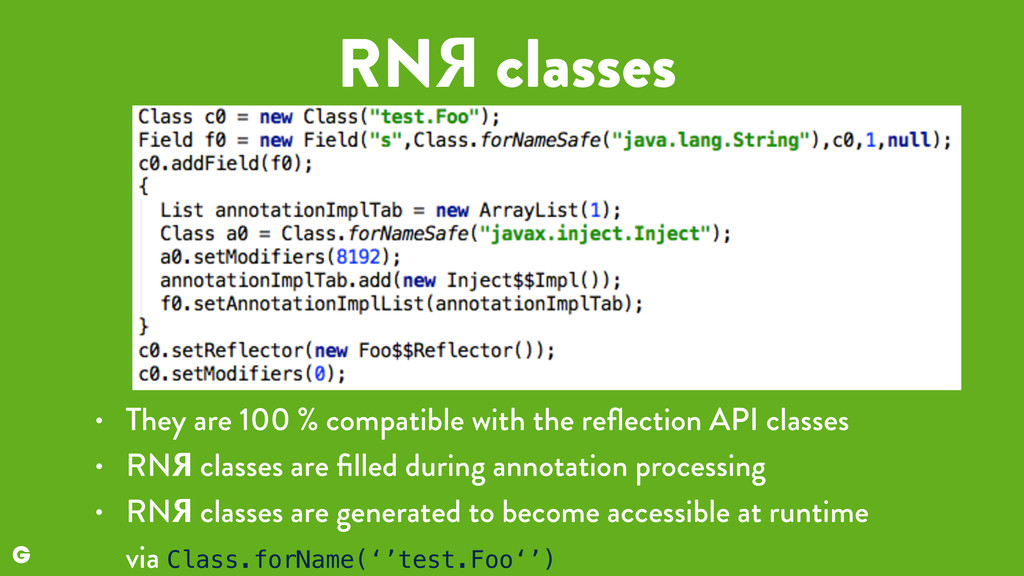 RNЯ classes • They are 100 % compatible with th...