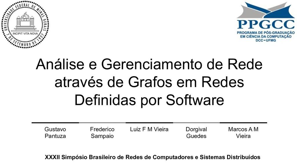 Análise e Gerenciamento de Rede através de Graf...