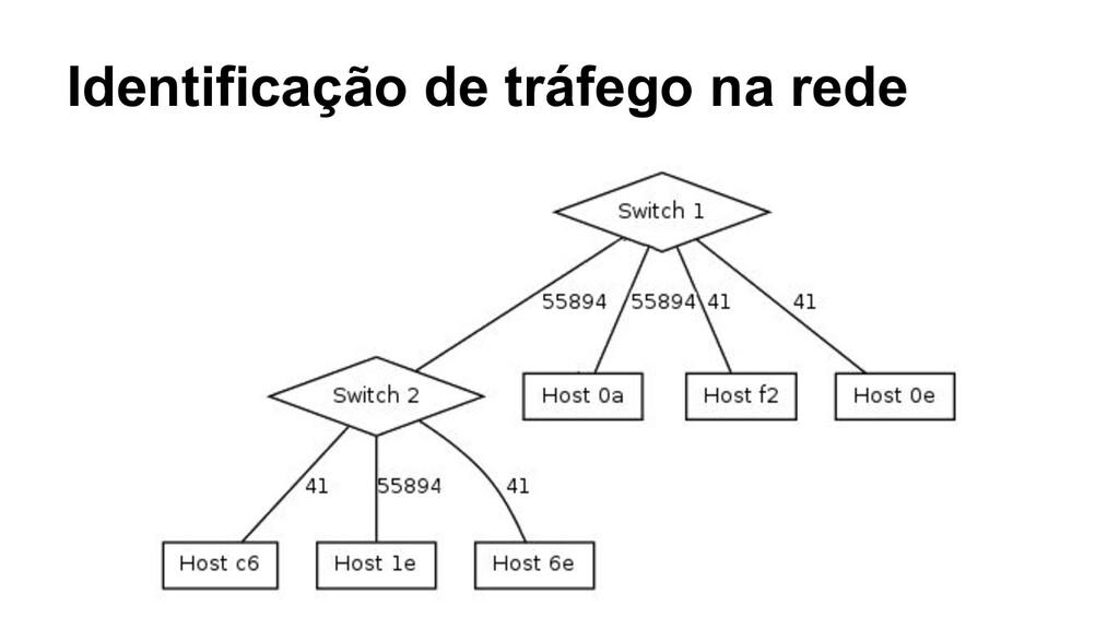 Identificação de tráfego na rede