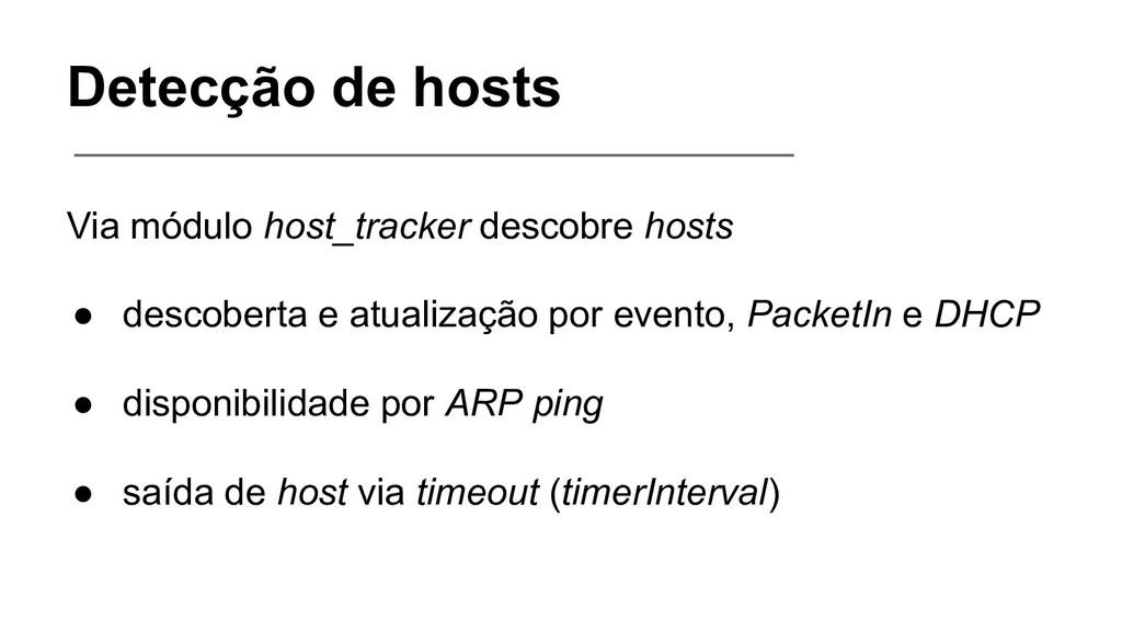 Detecção de hosts Via módulo host_tracker desco...