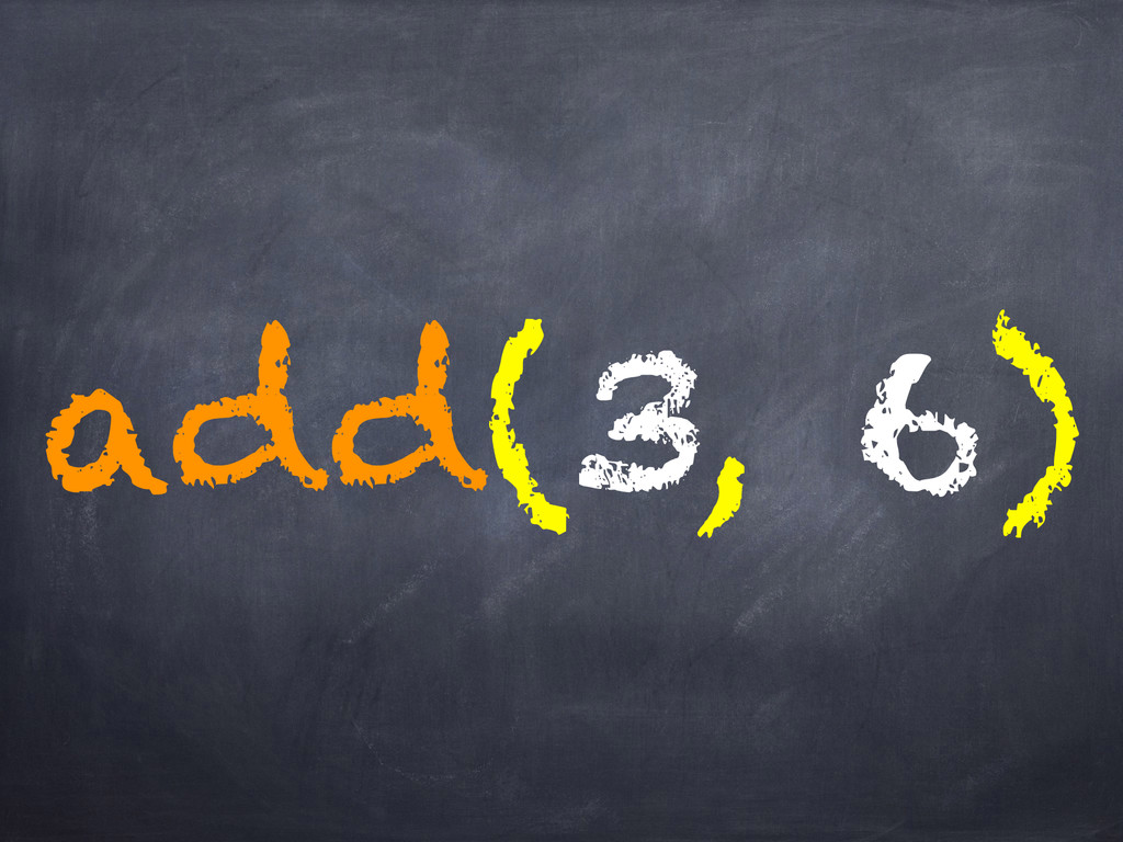 add(3, 6)