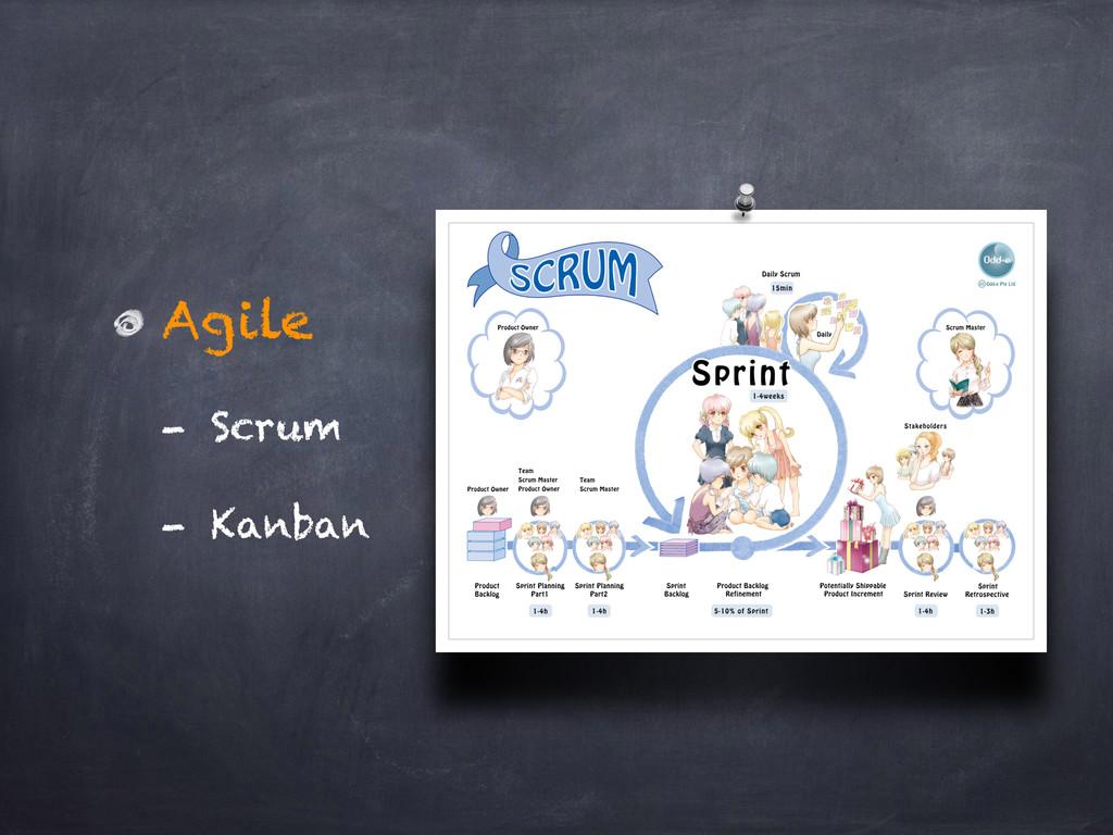 Agile - Scrum - Kanban
