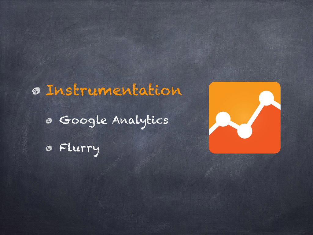 Instrumentation Google Analytics Flurry