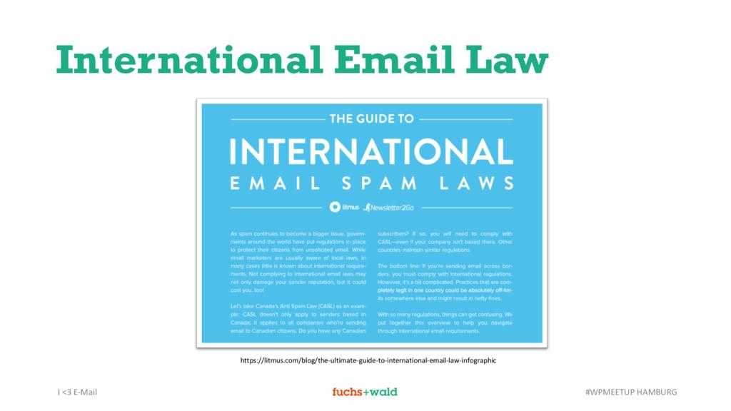 I <3 E-Mail #WPMEETUP HAMBURG International Ema...