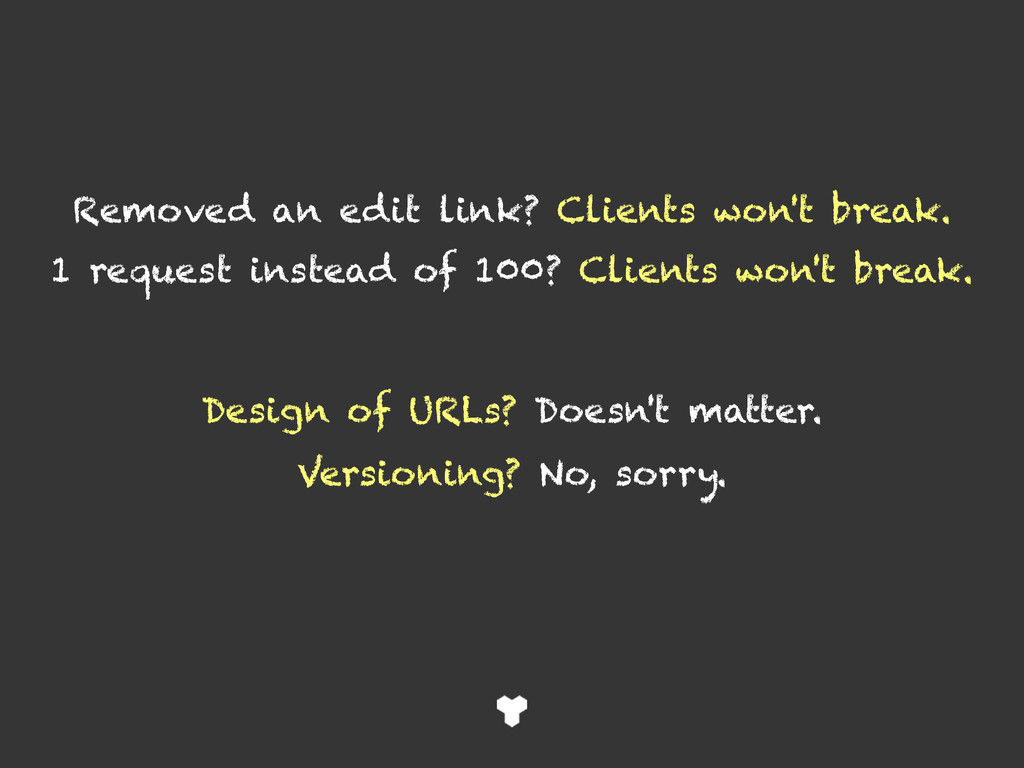 Removed an edit link? Clients won't break. 1 re...