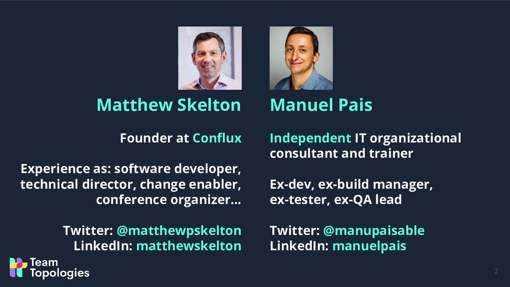 2 Manuel Pais Independent IT organizational con...