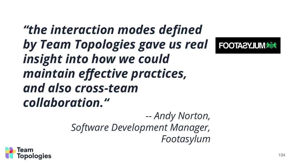 """""""the interaction modes defined by Team Topologie..."""