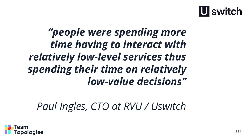 """""""people were spending more time having to inter..."""