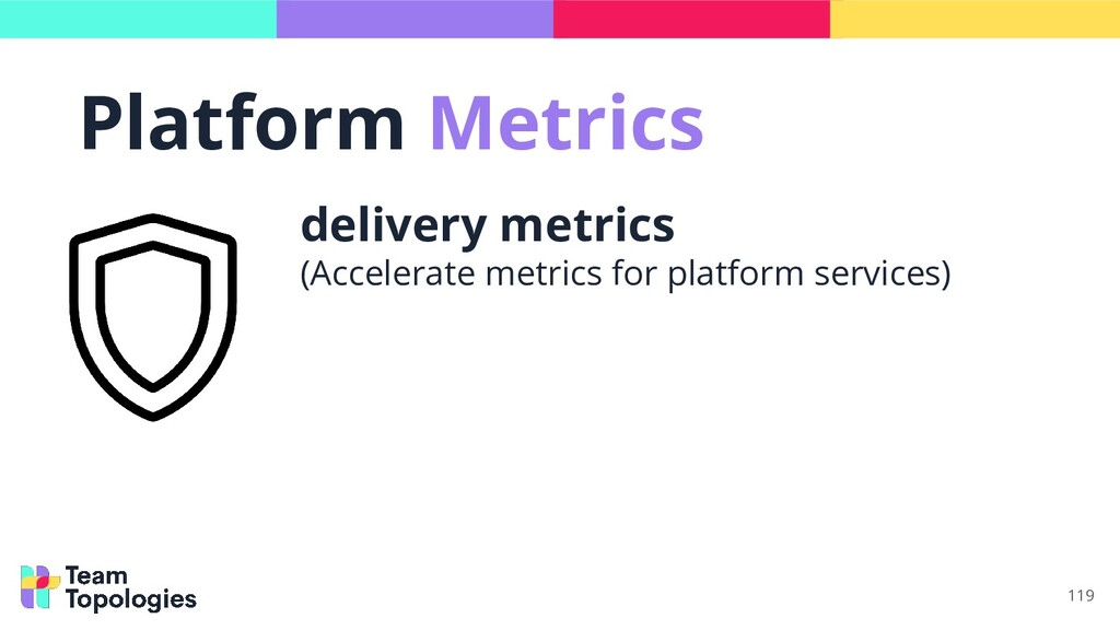 119 delivery metrics (Accelerate metrics for pl...
