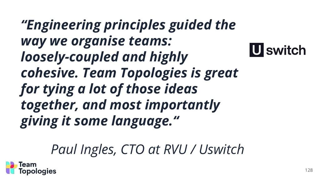 """Engineering principles guided the way we organ..."