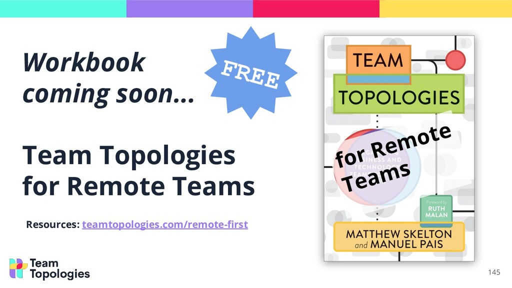 Workbook coming soon... Team Topologies for Rem...