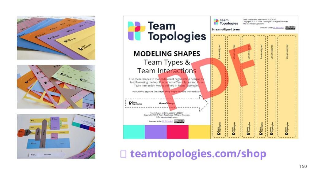 150 🠊 teamtopologies.com/shop