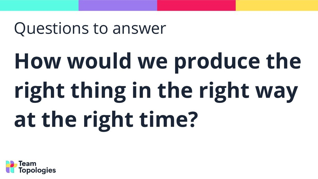 Questions to answer How would we produce the ri...
