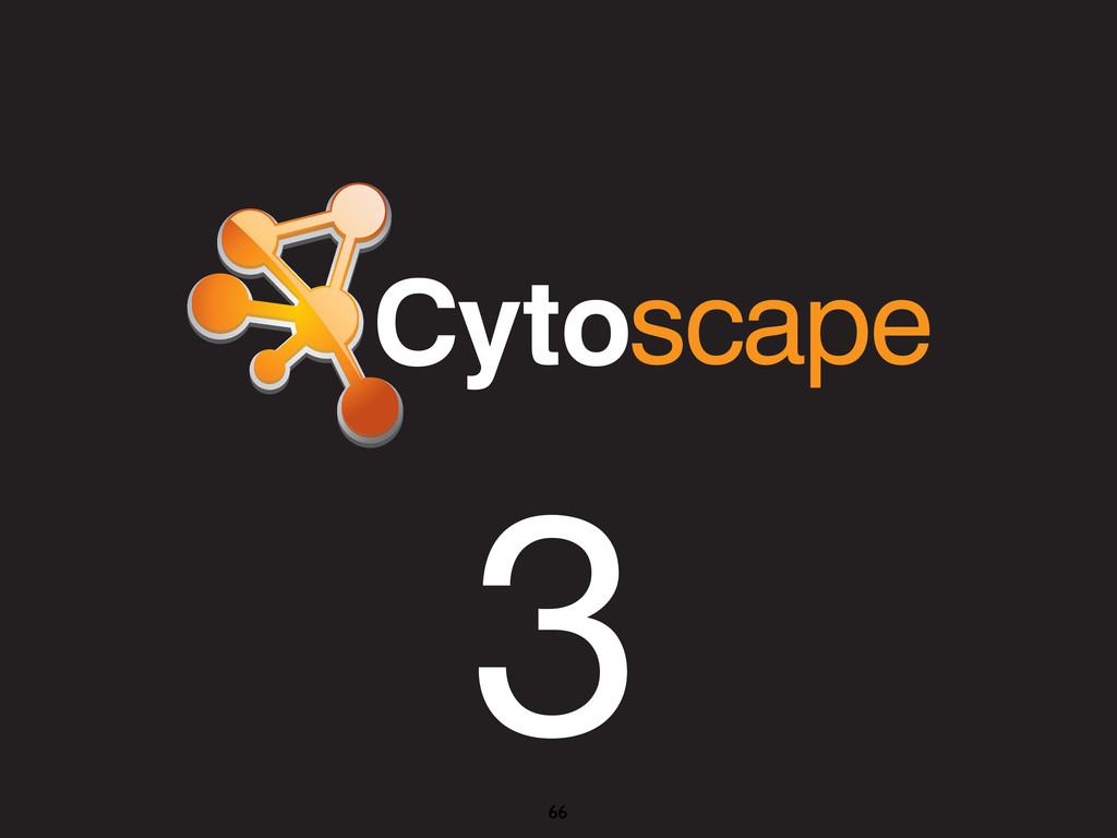 - Cytoscape 3 - Integration to Web 3 66