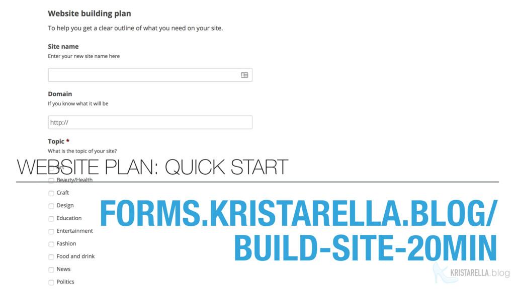 KRISTARELLA.blog FORMS.KRISTARELLA.BLOG/ BUILD-...