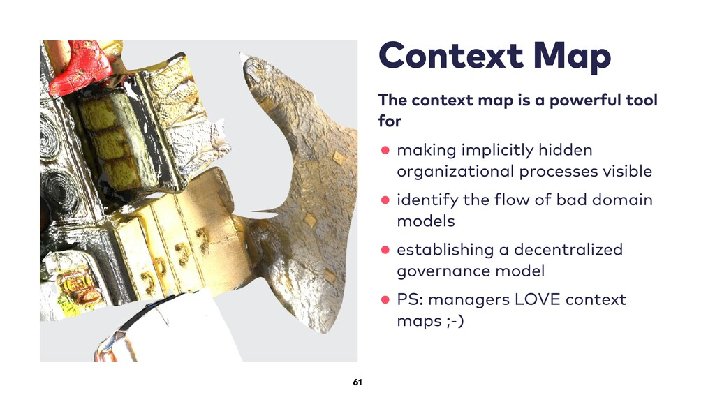 61 Context Map The context map is a powerful to...