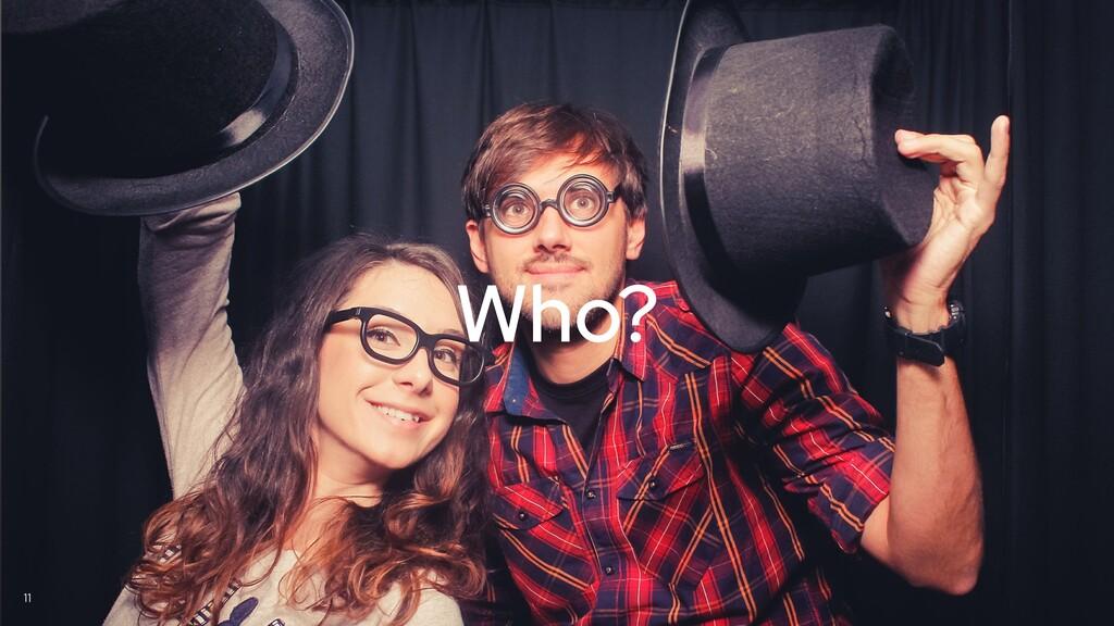 @yanaga 11 Who?