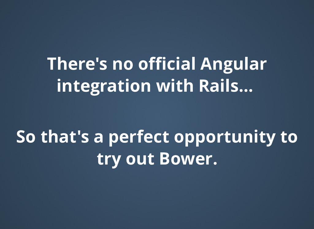 There's no official Angular There's no official Ang...