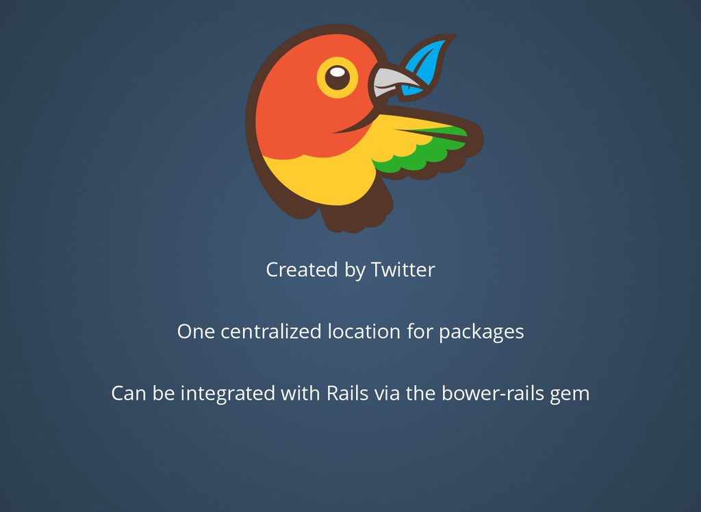 Created by Twitter One centralized location for...