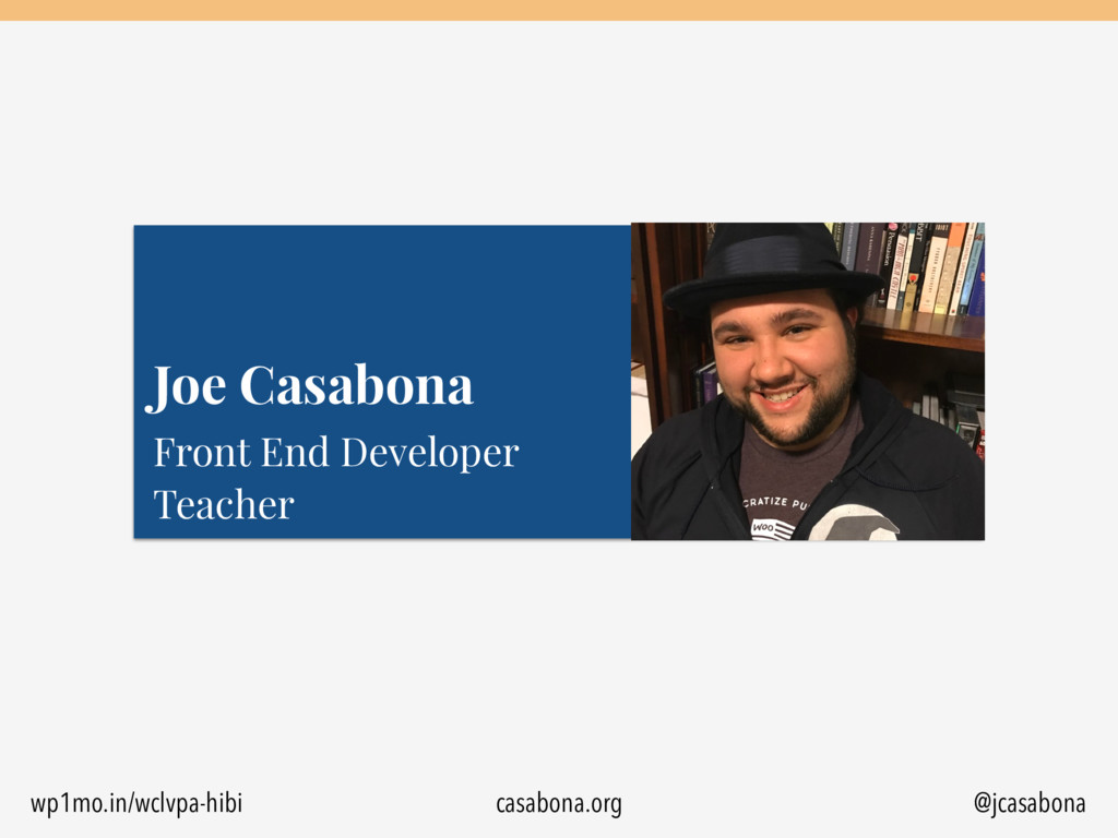 @jcasabona Front End Developer 