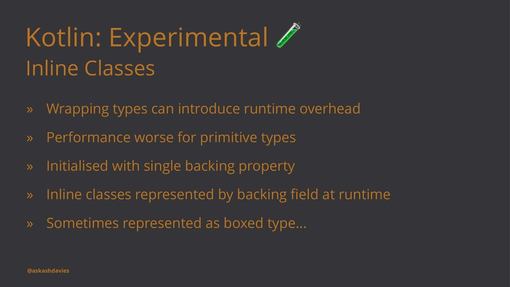 Kotlin: Experimental Inline Classes » Wrapping ...