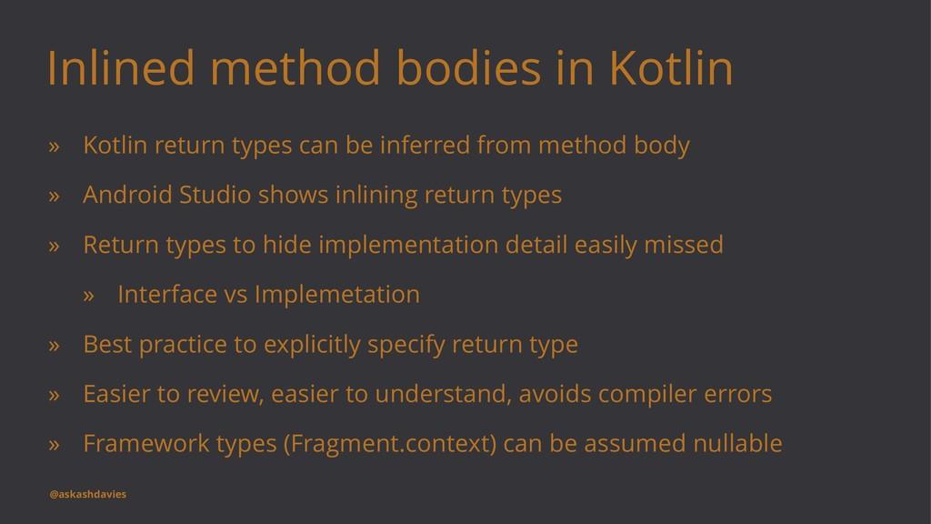 Inlined method bodies in Kotlin » Kotlin return...