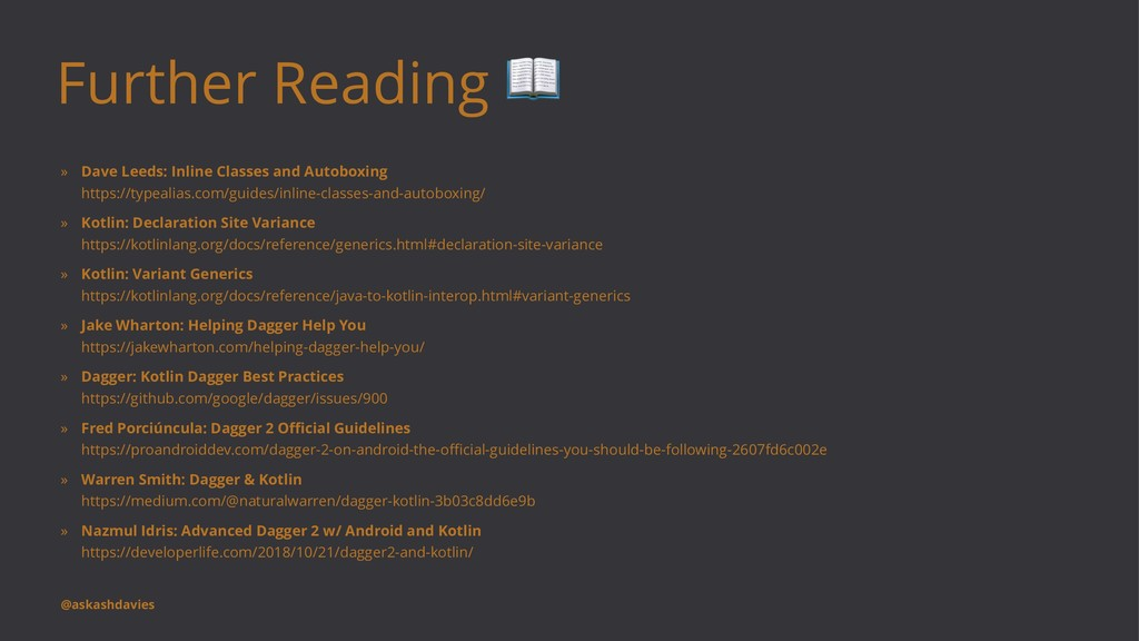Further Reading ! » Dave Leeds: Inline Classes ...