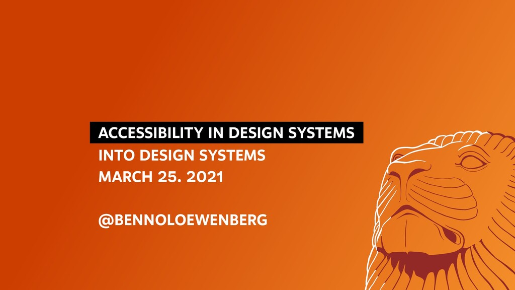 ACCESSIBILITY IN DESIGN SYSTEMS INTO DESIGN ...