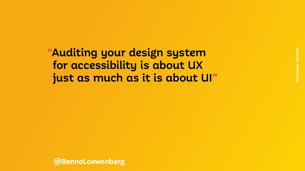 """""""Auditing your design system for accessibility ..."""