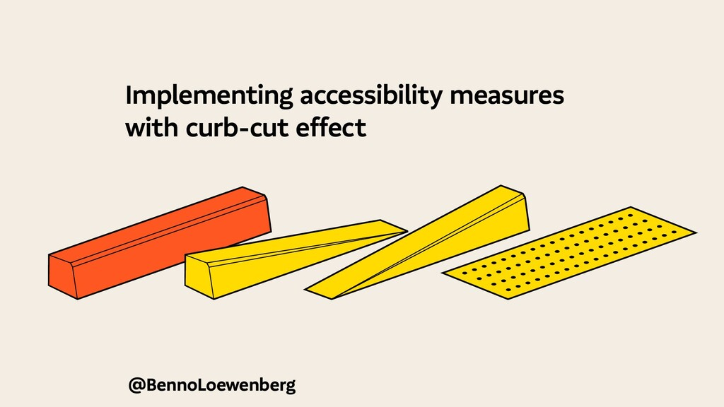 @BennoLoewenberg Implementing accessibility mea...