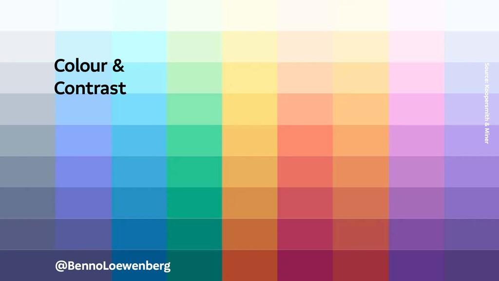 @BennoLoewenberg Colour & Contrast Source: Koop...