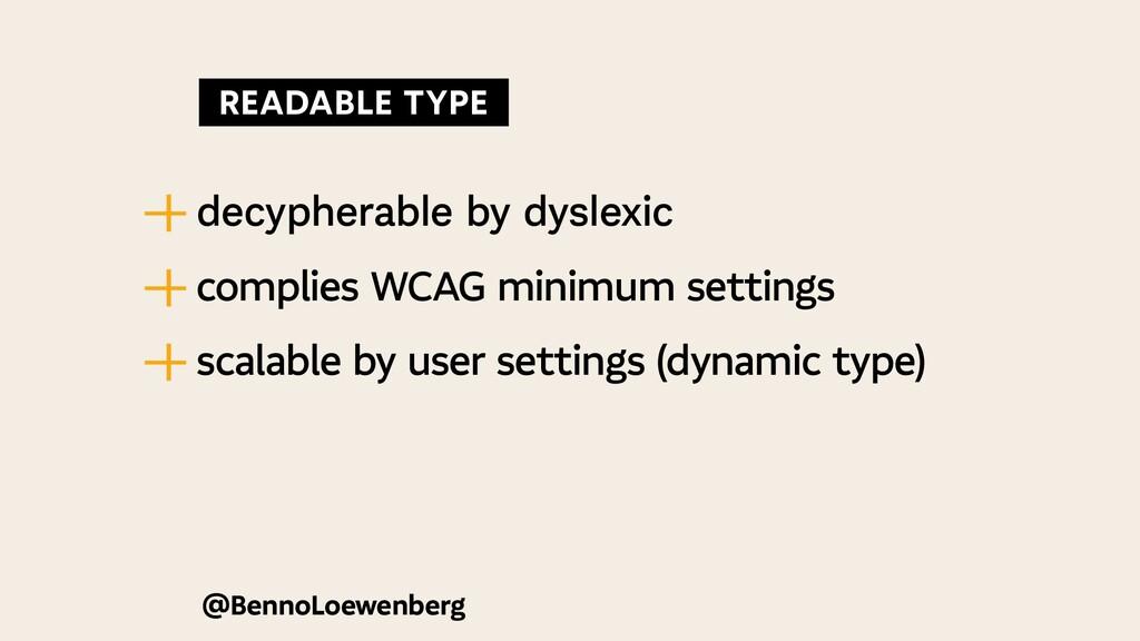 @BennoLoewenberg — | decypherable by dyslexic —...