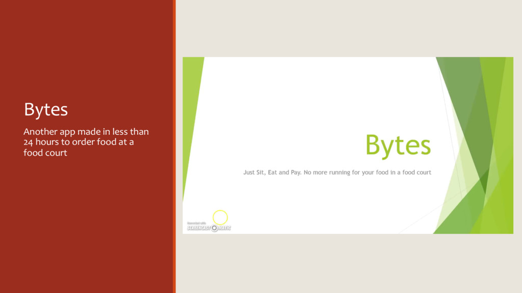 Bytes Another app made in less than 24 hours to...