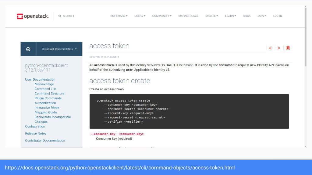 https://docs.openstack.org/python-openstackclie...